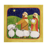 The Shepherds Giclee Print by Linda Benton