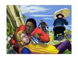 The Good Samaritan, 1994 Giclee Print by Dinah Roe Kendall