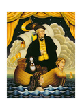 Wagner, the Flying Dutchman, 2001 Giclee Print by Frances Broomfield
