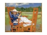 The Convalescent Giclee Print by Augustus Edwin John
