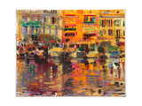 Riviera Summer Giclee Print by Peter Graham