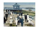 Brighton Bandstand, 2007 Giclee Print by Margaret Hartnett