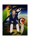 Schubert and the Language of Birds, 2000 Giclee Print by Frances Broomfield
