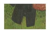 Manteau Noir Et Sac Sur Paravent, 2004 Giclee Print by Delphine D. Garcia