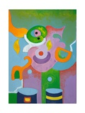 Lady Paediatrician as Seen by the Child, 2009 Giclee Print by Jan Groneberg