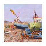 Clear Blue Day (Aldeburgh Beach) 2006 Giclee Print by Martin Decent
