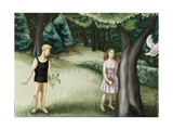 Forest Annunciation, 2, 2006 Giclee Print by Caroline Jennings