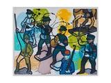 Steptaker III, 2008 Giclee Print by Nora Soos