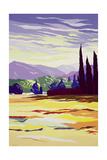 Monte San Quirico, Lucca, 2003 Giclee Print by Derek Crow