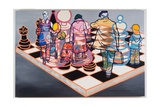 Fair Play IV, 2007 Giclee Print by Nora Soos