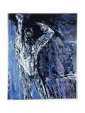 Naked Man, Left Hand Panel of a Diptych, 1990 Giclee Print by Stephen Finer