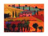 Tuscany, 2008 Giclee Print by Paul Powis