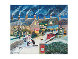 Christmas Post Giclee Print by Lisa Graa Jensen