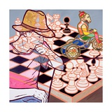Frivolous Opponent, 2008 Giclee Print by Nora Soos