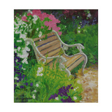 Garden Bench, 2007/8 Giclee Print by William Ireland