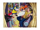 Jesus Visits Bethany, 2001 Giclee Print by Dinah Roe Kendall