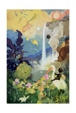Fantasy Nature Scene Giclee Print by George Adamson