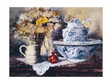 Bowl and Jug Giclee Print by John Lidzey