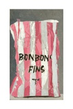 Bonbons Fins, 2005 Giclee Print by Delphine D. Garcia
