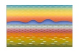 Dusk at Lake Balaton, 1991 Giclee Print by Emil Parrag
