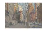 East 70th Street, 2010 Giclee Print by Julian Barrow