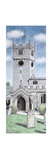 St Michael and All Angels Church Clock, Beetham, Cumbria, 2009 Giclee Print by Sandra Moore