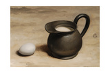 Milk Jug and Egg I Giclee Print by James Gillick