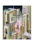 The Somnambulist, 1927 Giclee Print by John Armstrong