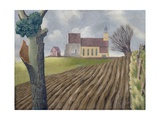 Tilty Church, 1940 Giclee Print by John Armstrong