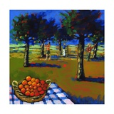 Orange Picking, 2008 Giclee Print by Paul Powis