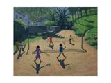 Badminton, Coonoor, India Giclee Print by Andrew Macara