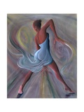 Blue Dress Giclee Print by Ikahl Beckford