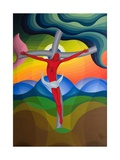 On the Cross, 1992 Giclee Print by Emil Parrag