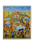 The Fair from My Childhood, 1999 Giclee Print by Radi Nedelchev