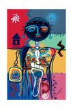 Dreaming of Africa, 2004 Giclee Print by Oglafa Ebitari Perrin