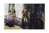 Bedroom at the Dell Giclee Print by John Lidzey