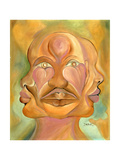 Faces of Copulation Giclee Print by Ikahl Beckford