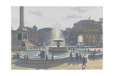 Trafalgar Square, 2010 Giclee Print by Julian Barrow