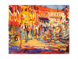 St. Tropez Promenade Giclee Print by Peter Graham