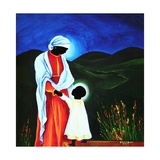 Madonna and Child - First Steps, 2008 Giclee Print by Patricia Brintle