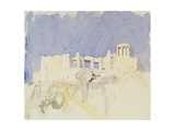 Acropolis, Athens, 1994 Giclee Print by Charlie Millar