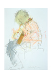 Guitar Player Giclee Print by Felicity House