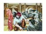 Woman Taken in Adultery, 1998 Giclee Print by Dinah Roe Kendall