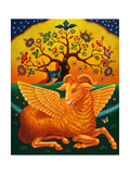 The Ram with the Golden Fleece, 2011 Giclee Print by Frances Broomfield