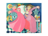 The Zar II, 1992 Giclee Print by Laila Shawa