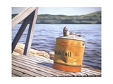 A Day at the Lake, 1996 Giclee Print by David Arsenault