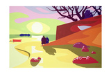 Tranquility, Jersey, 2003 Giclee Print by Derek Crow