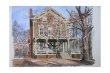 Historic Home, Westfield, Nj, 2010 Giclee Print by Anthony Butera