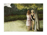 Forest Annunciation, 1, 2005 Giclee Print by Caroline Jennings
