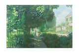 Monet's Garden Giclee Print by William Ireland